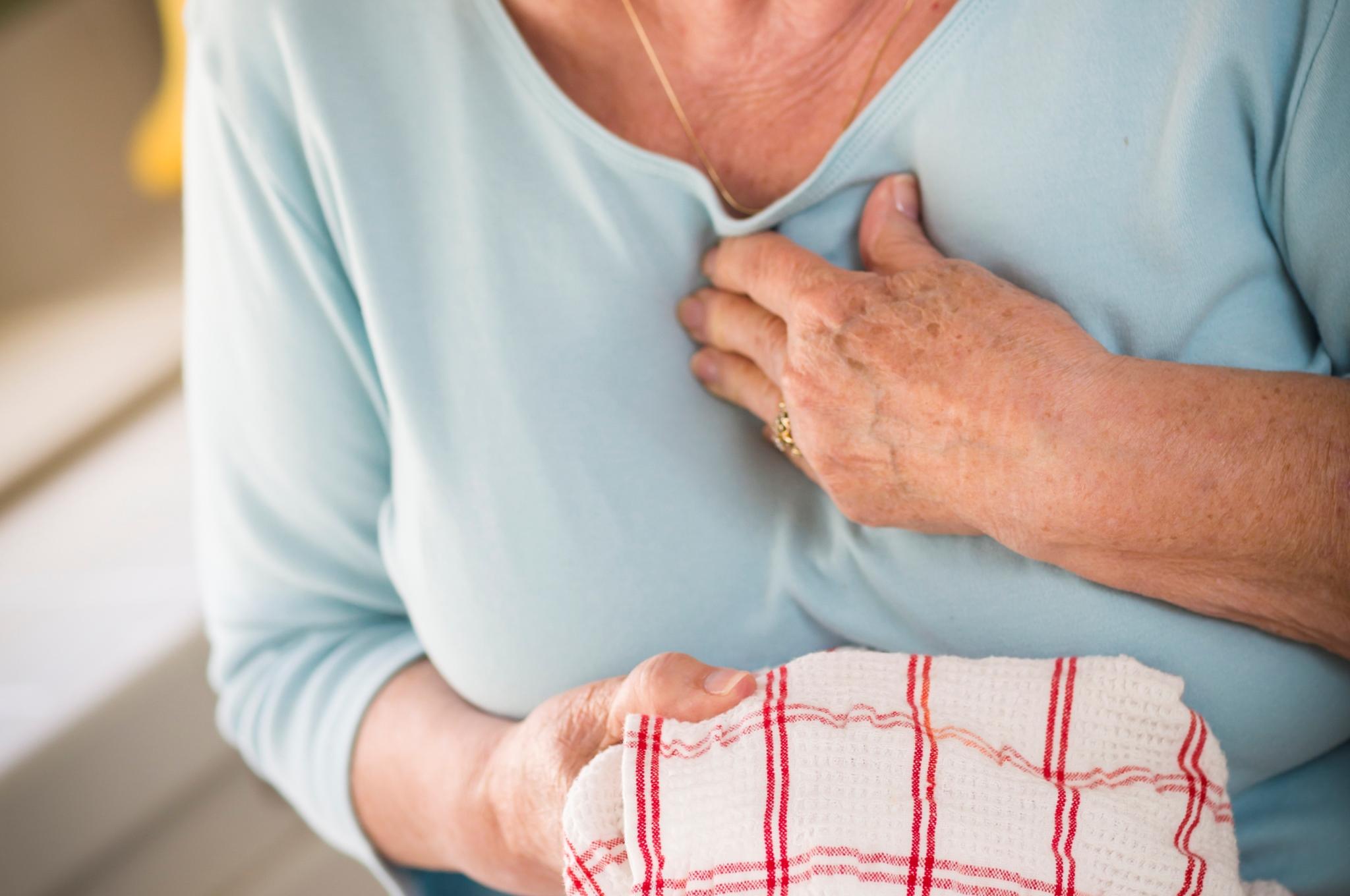 angina pectoris vs hjerteinfarkt